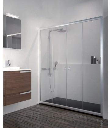 Mampara de ducha modelo varsovia - Mampara cristal ducha ...